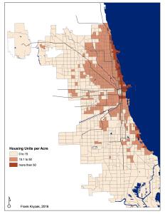 Housing Units per Acre